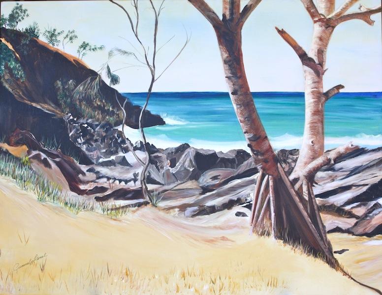 'Pandanus palms'- Noosa, Alexandra Bay.